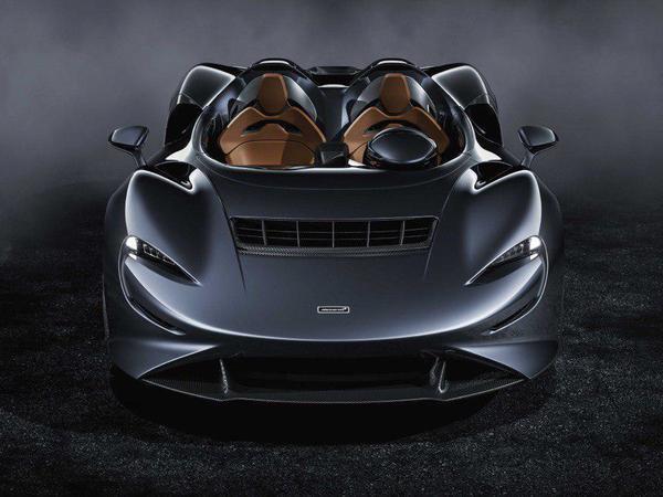 McLaren представил 800-сильный суперкар без крыши и ветрового стекла