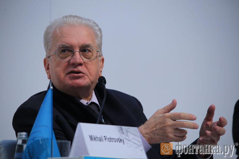 Михаил Пиотровский / автор фото Павел Каравашкин/«Фонтанка.ру