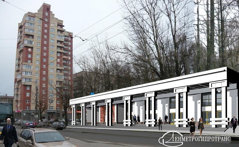 вестибюль станции «Путиловская» / проект ЛМГТ / автор фото КРТИ