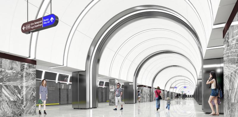 станция «Путиловская» / проект «Метрогипротранса»/ автор фото КРТИ