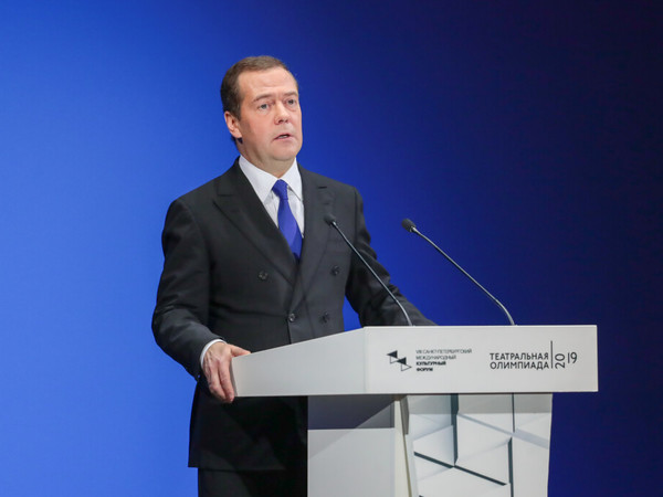 Дмитрий Медведев//Фотобанк СПКФ