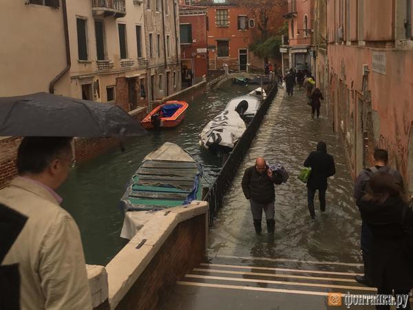 «Вода реально поднимается у вас на глазах». Петербурженка рассказала, как пережить сильнейшее за полвека наводнение в Венеции