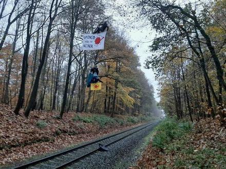 Экологи остановили в Германии поезд с «урановыми хвостами», которые отправлены в Россию