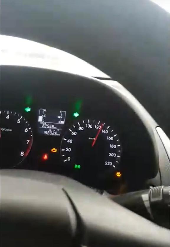 Скриншот из видео в соцсетях