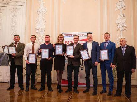 Сотрудники объединения «Строительный трест» – победители конкурса «Строймастер Санкт-Петербург - 2019»