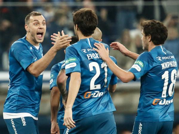 «Зенит» не смог обыграть ЦСКА, но первый круг закончил на первом месте