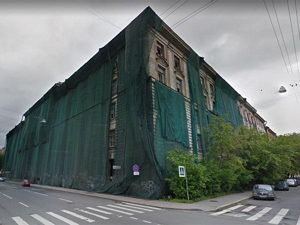 комплекс зданий на Малом проспекте П.С.//скриншот страницы сервиса Google.Maps