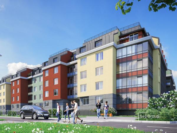 В продажу вышли новые квартиры в ЖК «Зеленый квартал» в Московском районе