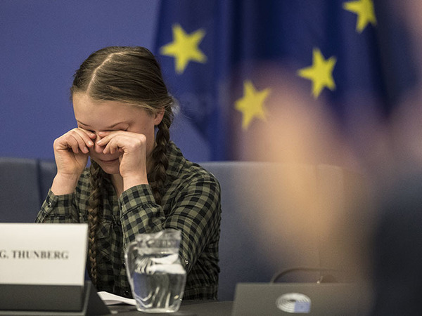 Грета Тунберг// AP Photo/Jean-Francois Badias/ТАСС