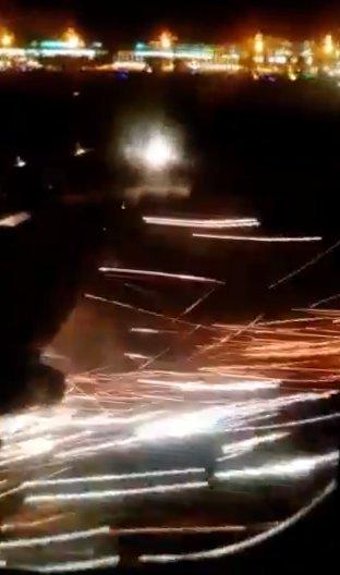 Кадр из видео в twitter.com/lecu12
