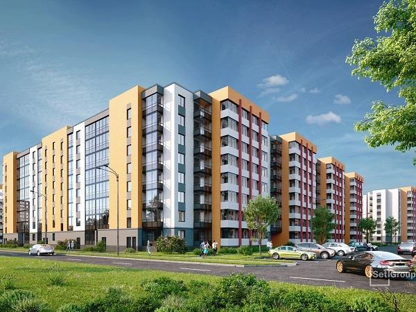Setl Group строит 11-ю очередь ЖК «Солнечный город»