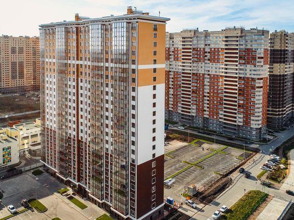Жилой комплекс «Крылья» на Пулковском шоссе введен в эксплуатацию