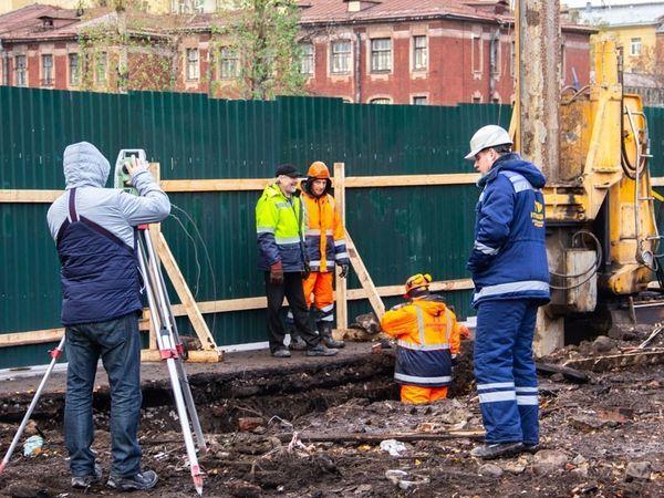 На строительной площадке ЖК «Новый Невский» начались монолитные работы