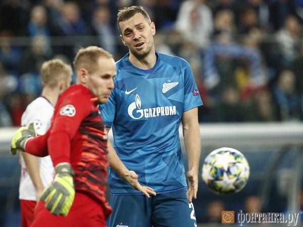 «Зенит» снова по делу проиграл в Лиге Чемпионов. Не помог даже отмененный гол