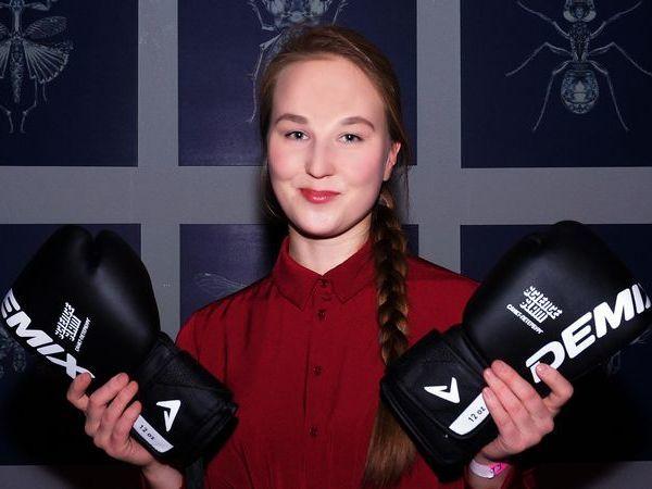 Победитель Science Slam Мария Чакчурина, фото: Алексей Рожнов