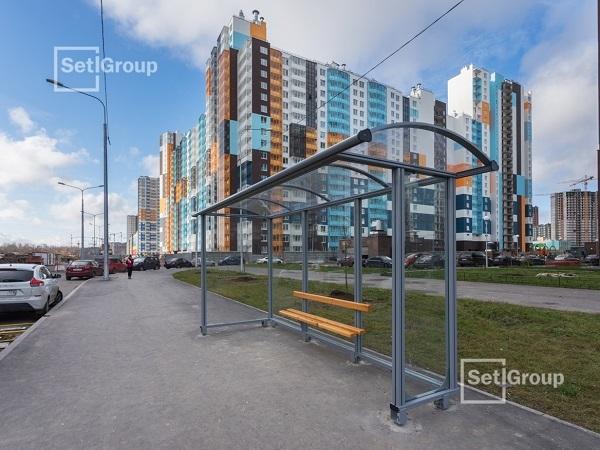 Setl Group построил западный участок Плесецкой улицы