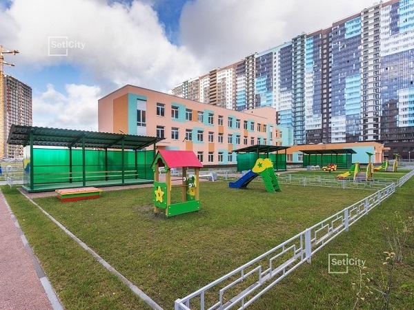 Setl Group возводит четвертый детский сад в ЖК «Чистое небо»