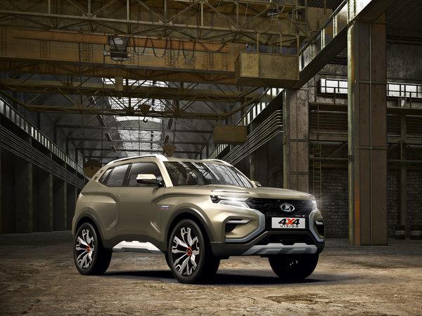 «АвтоВАЗ» запатентовал интерьер «преемника «Нивы» - нового внедорожника LADA 4x4 Vision