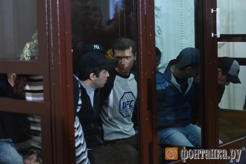 Аброр Азимов и фигуранты дела о теракте в метро Петербурга