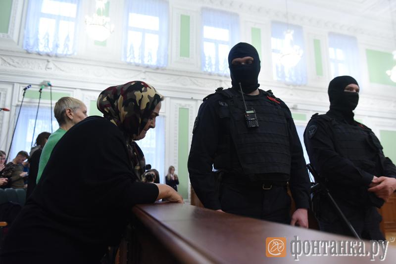 Заседание суда по делу о теракте в метро Петербурга