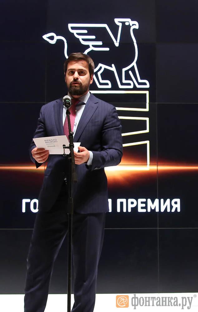 Руководитель Федерации бокса Санкт-Петербурга Максим Жуков