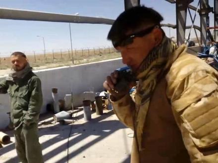 боец Вова (на переднем плане) / скриншот видео