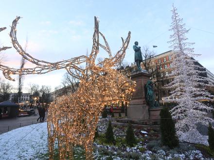 Выходные в Финляндии 14-15 декабря: «Тяжёлое Рождество», бесплатная экскурсия на русском и Йоулупукки