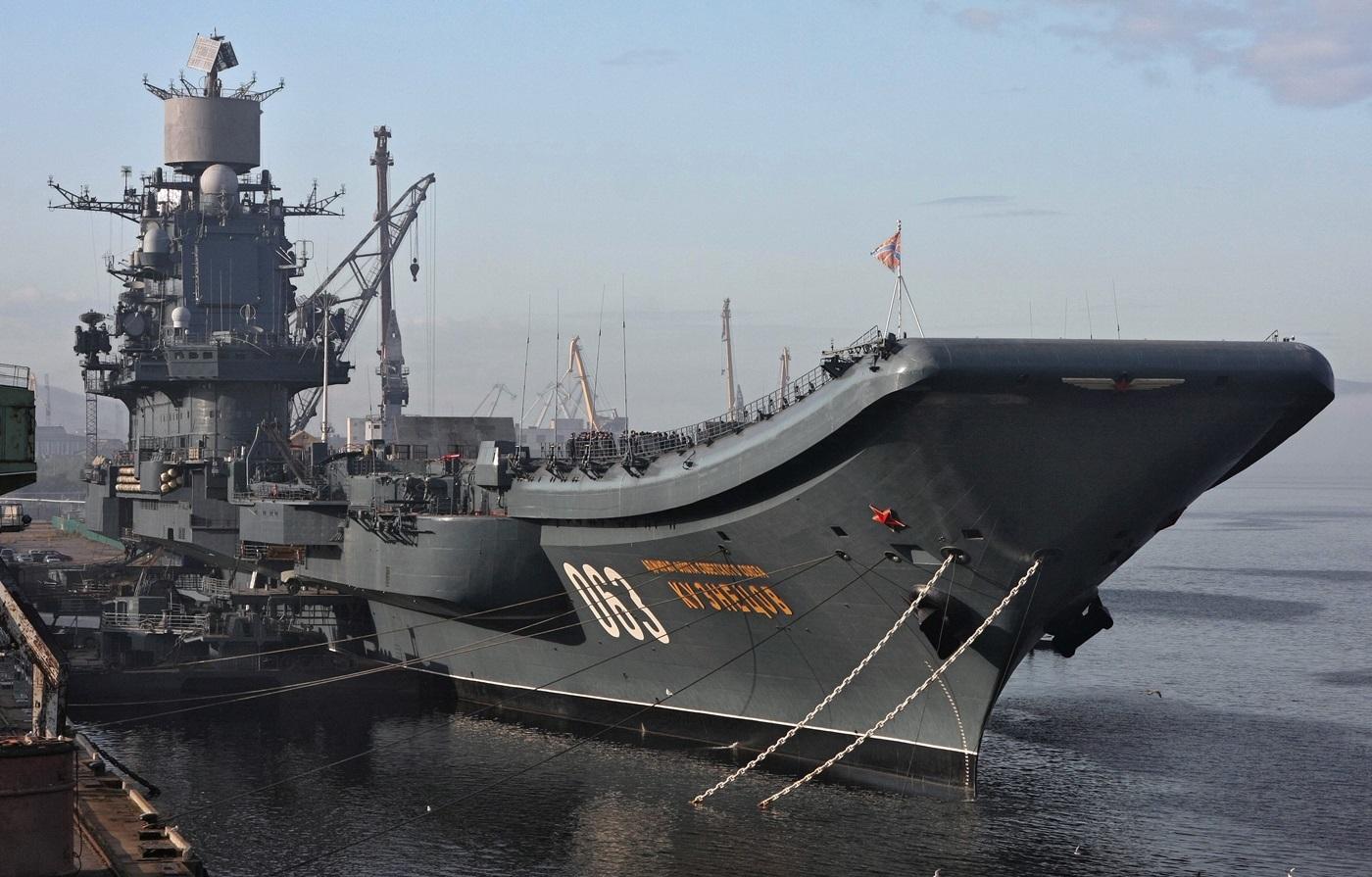 тяжелый авианесущий крейсер ВМФ России «Адмирал флота Советского Союза Н.Г. Кузнецов»