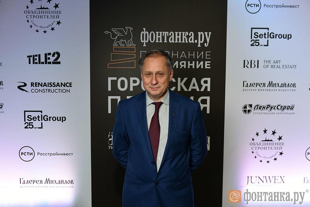 """главный редактор """"Фонтанки.ру"""" Александр Горшков"""