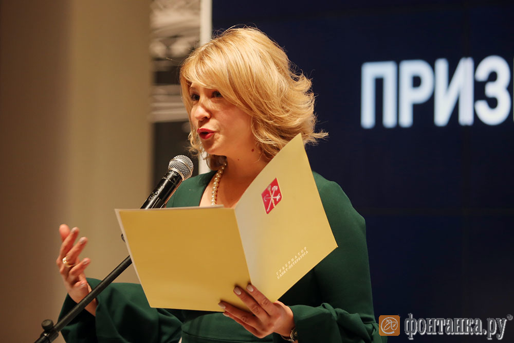 заместитель руководителя Администрации губернатора Санкт-Петербурга, руководитель пресс-службы, Инна Карпушина