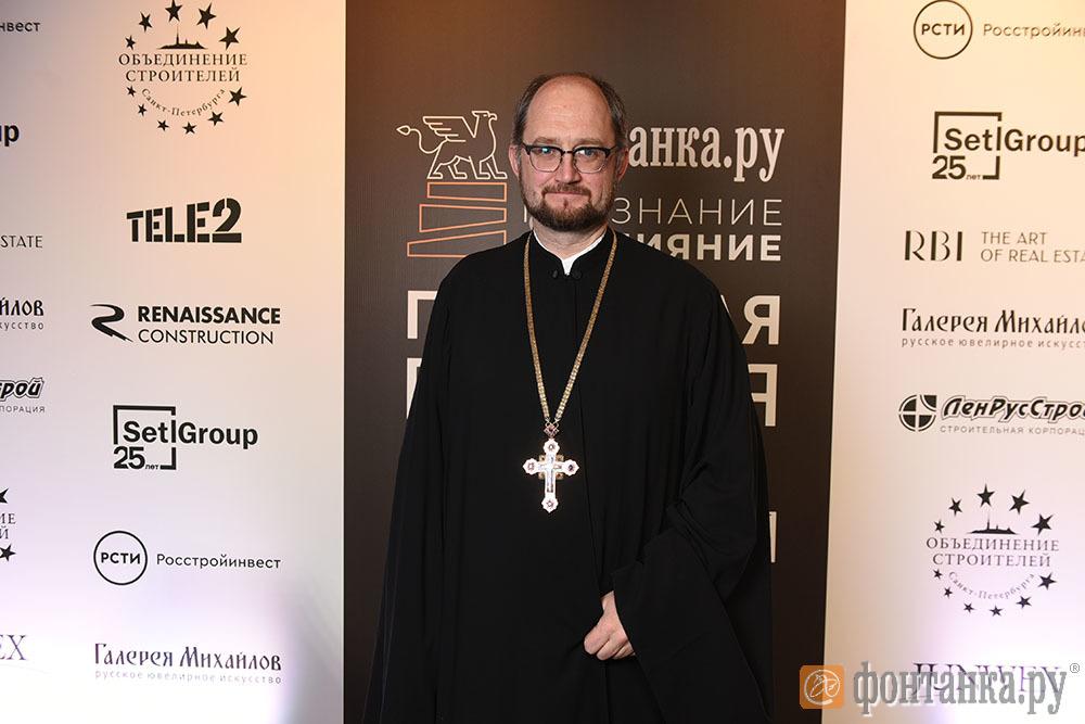 директор первого Детского хосписа протоирей Александр Ткаченко