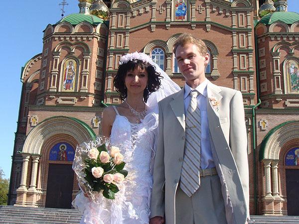 Наталья и Роман//из личного архива