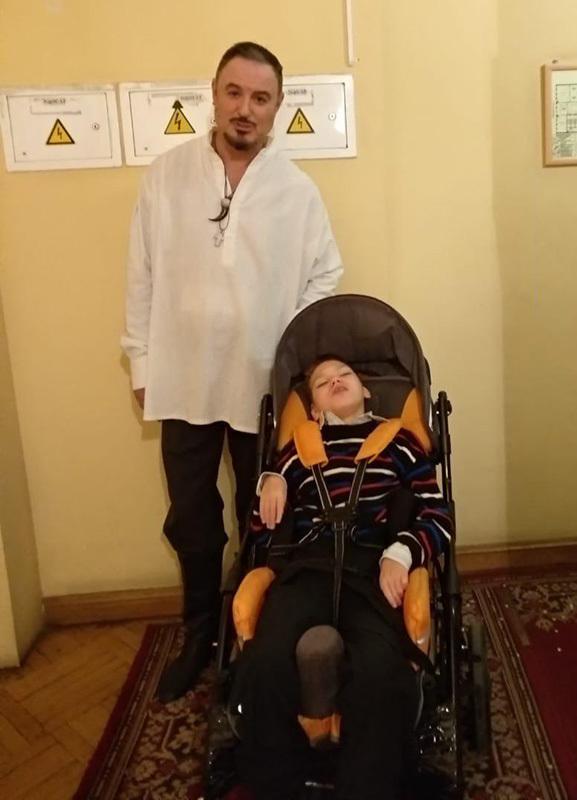 Максим Леонидов и Ваня//из личного архива