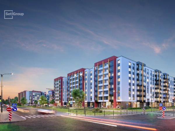 В продаже — новая очередь квартала «Солнечный город» в Красносельском районе