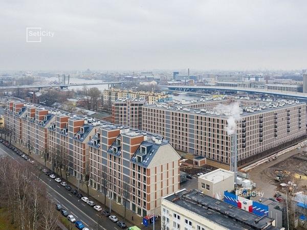 ЖК премиум-класса «Петровский Квартал на воде» введен в эксплуатацию