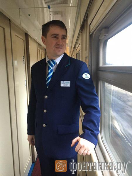 Александр Калеущенко, начальник первого поезда «Таврия»