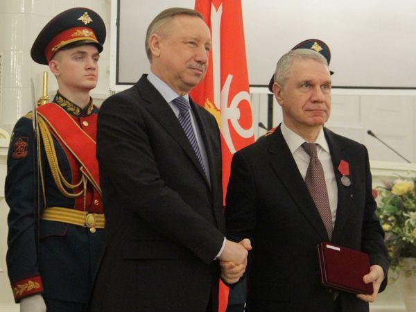 Федор Туркин награжден медалью «За заслуги перед Отечеством»