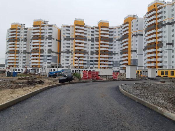 В Парголово построили очередное социальное жилье