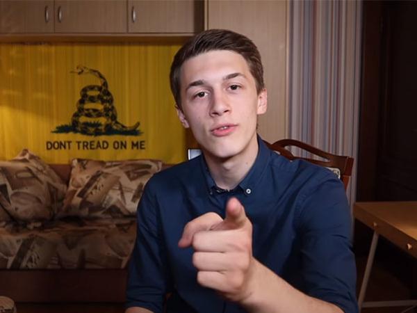 кадр из блога Егора Жукова/YouTube