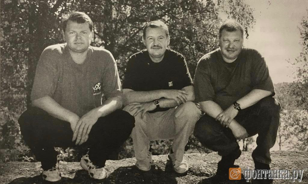 Пиотровский, Умнов и Ваничкин (Фото: из личного архива автора)
