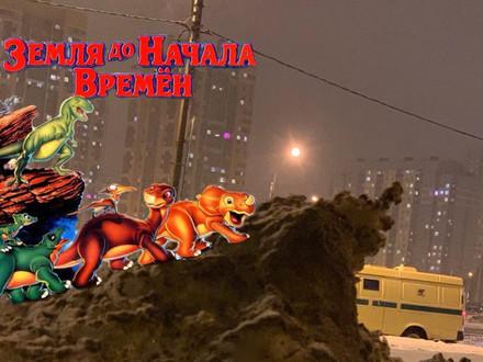 «Гром-сугроб» с окраины Петербурга завоёвывает соцсети