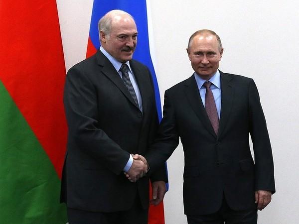 Александр Лукашенко и Владимир Путин//Пресс-служба президента РФ