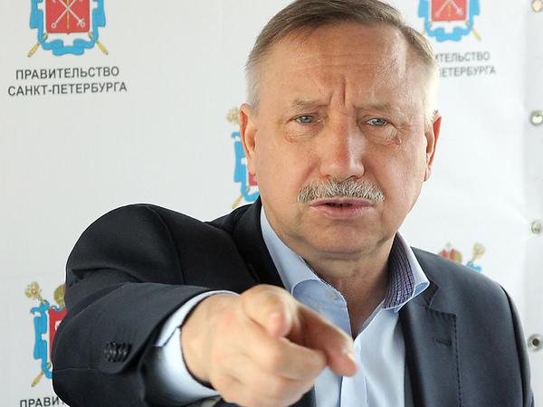 Беглов уволил глав трёх районов из-за уборки снега. Обезглавлены Центральный, Красносельский и Василеостровский