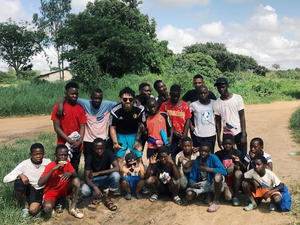 Как помощник Витселя бросил всё и уехал в Африку тренировать детей