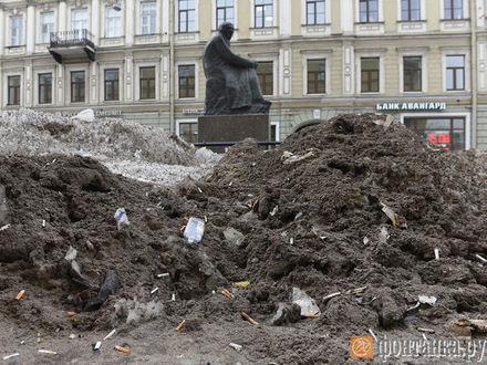 Фото дня. Петербург, который скрывали сугробы