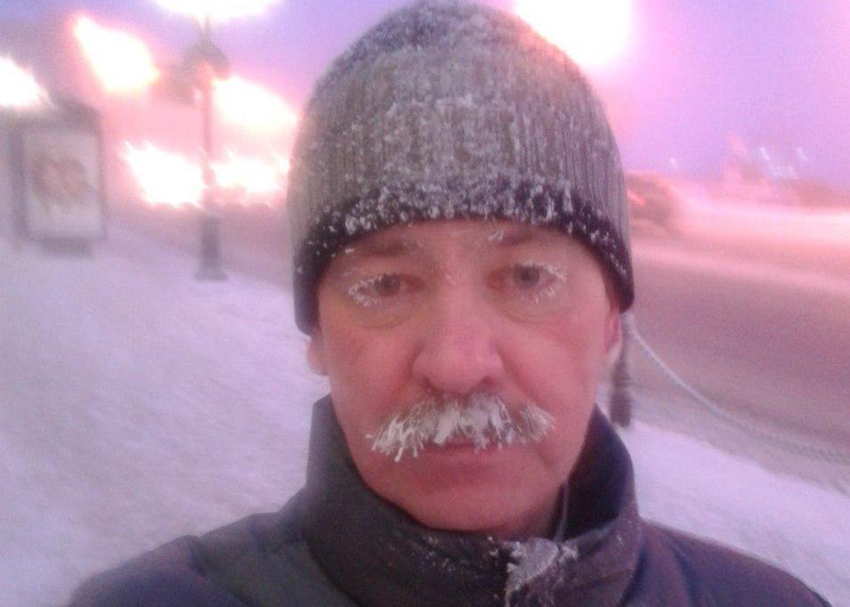 Александр Колесов зимой 2019 года/из личного архива