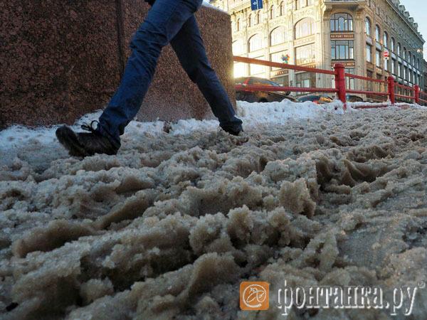 Как заметает Петербург. Неравная схватка коммунальщиков со снегом. Онлайн-трансляция.