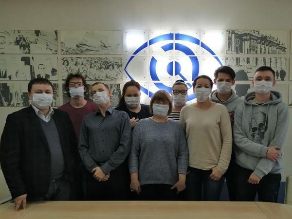 Челлендж #небойсямаски в поддержку онкобольных набирает обороты. «Фонтанка» вышла в медицинских масках