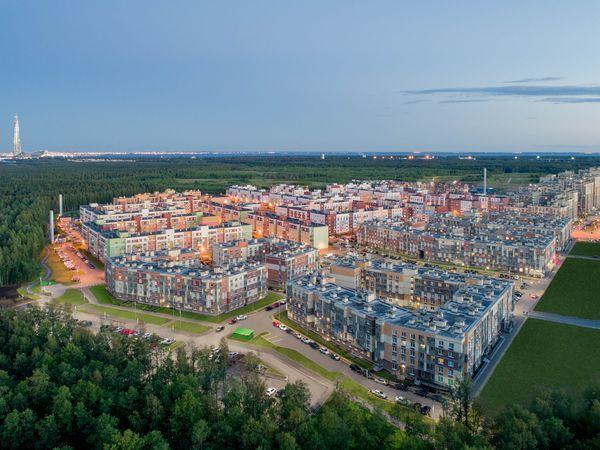 «Главстрой Санкт-Петербург» начал продажу квартир в первом корпусе пятой очереди ЖК «Юнтолово»