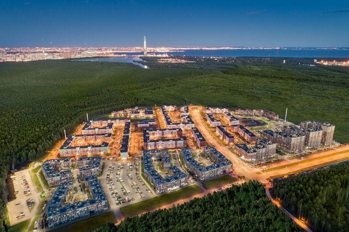 Новый жилой район «Юнтолово». Фото «Главстрой Санкт-Петербург»
